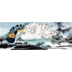 Chinese Peacock Painting - CNAG010108