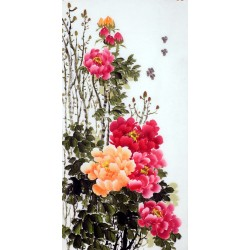 Chinese Peony Painting - CNAG010226