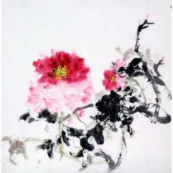 Chinese Peony Painting - CNAG010492