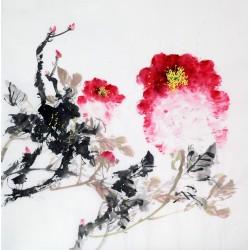 Chinese Peony Painting - CNAG010497
