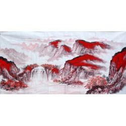 Chinese Landscape Painting - CNAG010514
