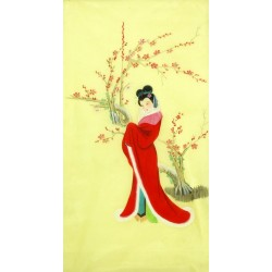 Chinese Beautiful Ladies Painting - CNAG010554