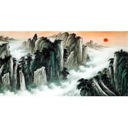 Chinese Pine Painting - CNAG010622