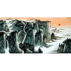 Chinese Pine Painting - CNAG010623