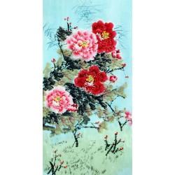 Chinese Peony Painting - CNAG010711