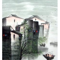 Chinese Jiangnan Painting - CNAG010816