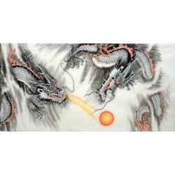 Chinese Dragon Painting - CNAG010818