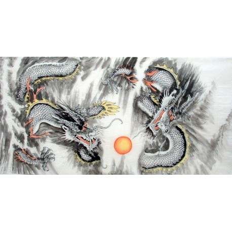 Chinese Dragon Painting - CNAG010819