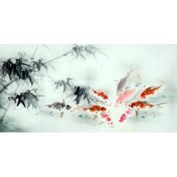 Chinese Carp Painting - CNAG011399