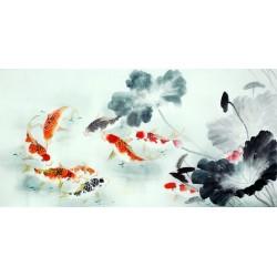 Chinese Carp Painting - CNAG011400
