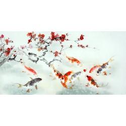Chinese Carp Painting - CNAG011445