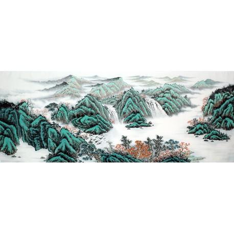Chinese Landscape Painting - CNAG011664