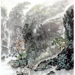 Chinese Landscape Painting - CNAG011887