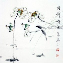 Chinese Flowers&Trees Painting - CNAG012056