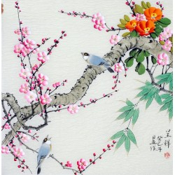 Chinese Flowers&Trees Painting - CNAG012138