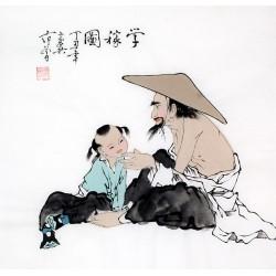 Chinese Figure Painting - CNAG012181