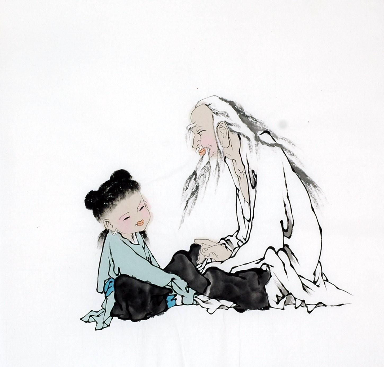 Chinese Figure Painting - CNAG012192