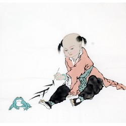 Chinese Figure Painting - CNAG012196