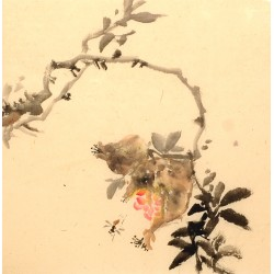 Chinese Flowers&Trees Painting - CNAG012630