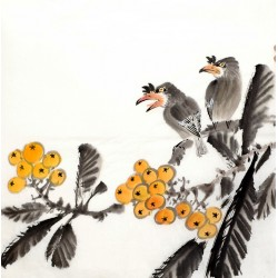 Chinese Flowers&Trees Painting - CNAG012666