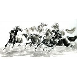 Chinese Horse Painting - CNAG013107