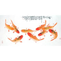 Chinese Fish Painting - CNAG013127