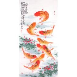 Chinese Fish Painting - CNAG013148