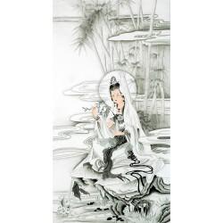 Chinese Guanyin Painting - CNAG013165