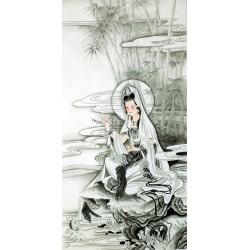 Chinese Guanyin Painting - CNAG013259