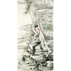 Chinese Guanyin Painting - CNAG013261