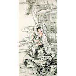 Chinese Guanyin Painting - CNAG013261