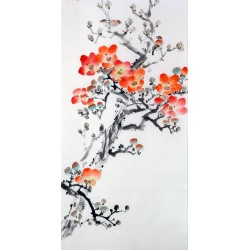 Chinese Flowers&Trees Painting - CNAG013350