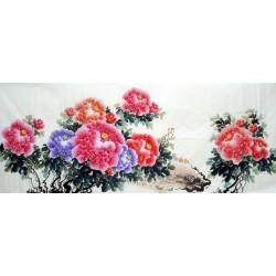 Chinese Peony Painting - CNAG013551
