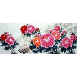 Chinese Peony Painting - CNAG013552