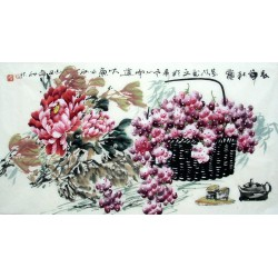 Chinese Grapes Painting - CNAG013629
