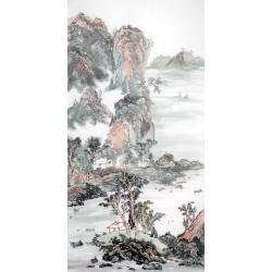 Chinese Landscape Painting - CNAG013972