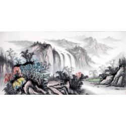 Chinese Landscape Painting - CNAG013977
