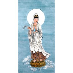 Chinese Guanyin Painting - CNAG014032