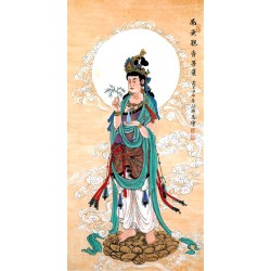 Chinese Guanyin Painting - CNAG014054