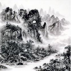 Chinese Landscape Painting - CNAG014126