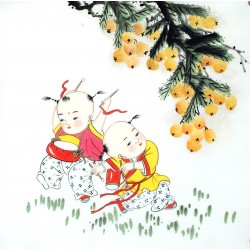 Chinese Figure Painting - CNAG014139