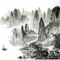 Chinese Landscape Painting - CNAG014217