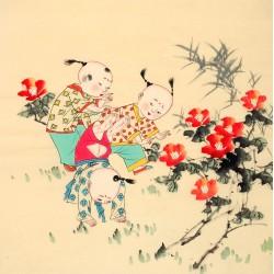 Chinese Figure Painting - CNAG014247