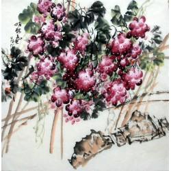 Chinese Grapes Painting - CNAG014289