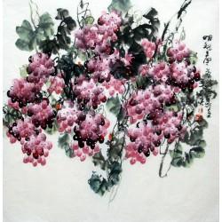 Chinese Grapes Painting - CNAG014291