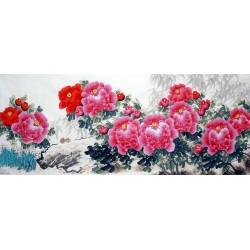 Chinese Peony Painting - CNAG014300