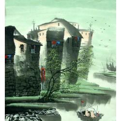 Chinese Jiangnan Painting - CNAG014312
