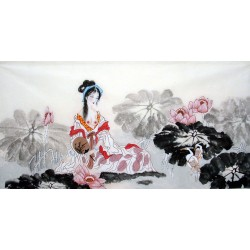 Chinese Figure Painting - CNAG014326