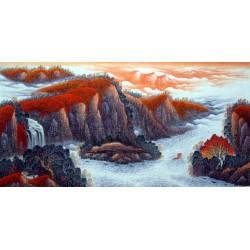 Chinese Landscape Painting - CNAG014569