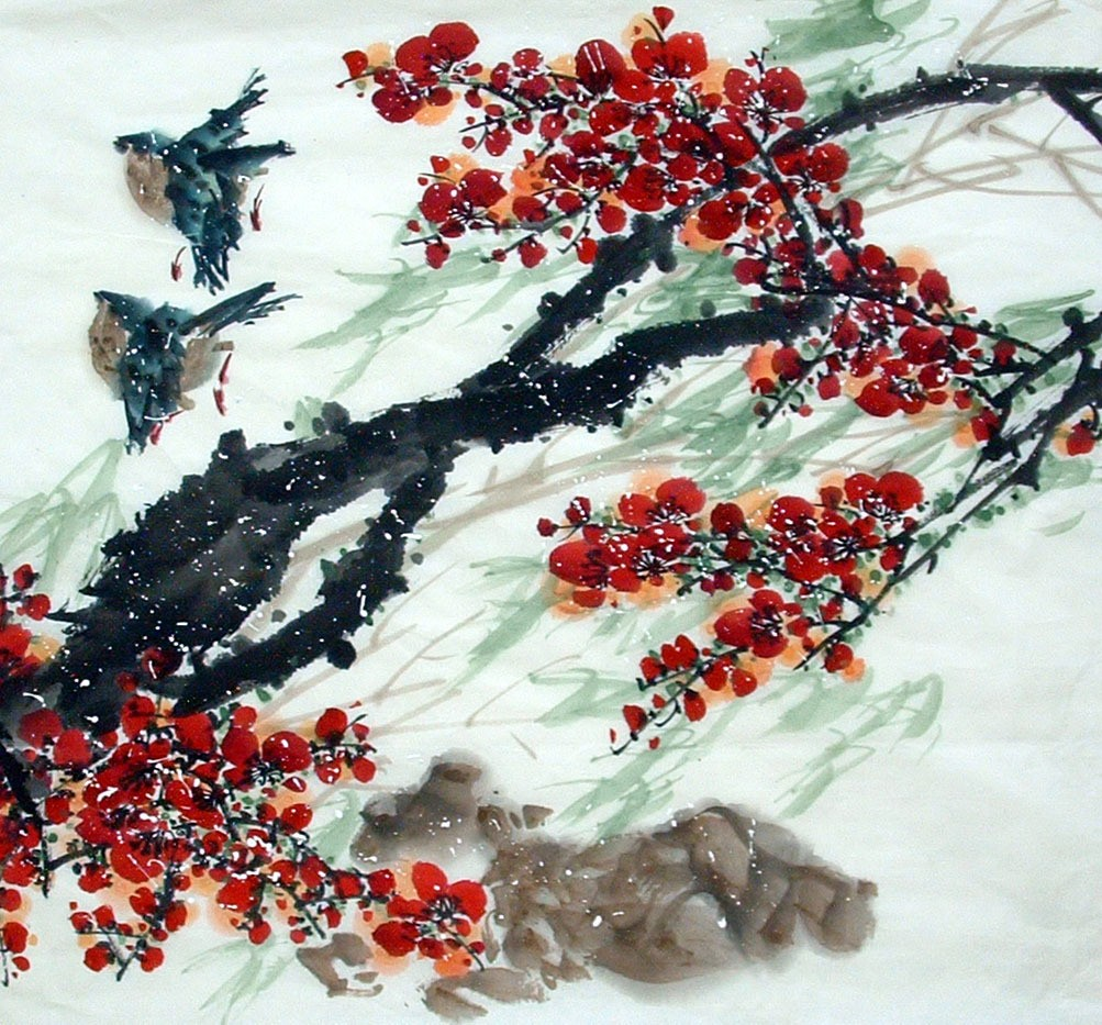 Chinese Grapes Painting - CNAG014675